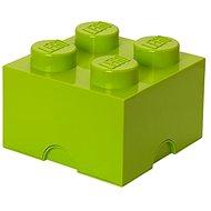 LEGO Úložný box 4 250 x 250 x 180 mm - limetkově zelený