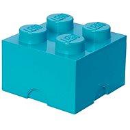 LEGO Úložný box 4 250 x 250 x 180 mm - azurový