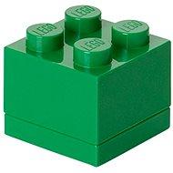 LEGO Mini box 46 x 46 x 43 mm - tmavě zelený
