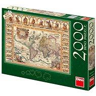 Dino Historická mapa světa