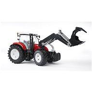 Bruder Farmer Steyr CVT 6230 traktor s předním nakladačem