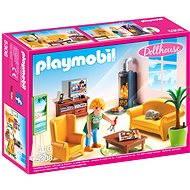 Playmobil 5308 Obývací pokoj s krbem