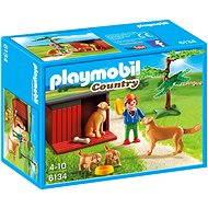 Playmobil 6134 Zlatý retriever se štěnaty