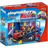 Playmobil 6157 Zavírací box Motorkářská dílna