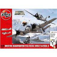 AirFix Gift Set A50171 letadlo – Bristol Beaufighter TF.X vs Focke-Wulf Fw190A-8