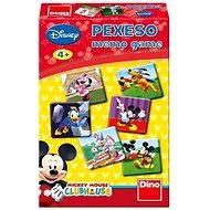 Pexeso - Mickeyho klubík