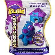 Kinetický písek Build - 2 barevné balení fialová/modrá 450 g