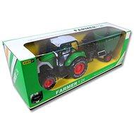Traktor s pohonem a přívěsem