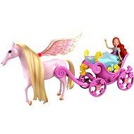 WinX - Kočár s koněm a princezna Bloom