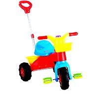 Tříkolka Buddy Toys s vodící tyčí