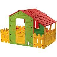 Domeček Farm s plotem a verandou