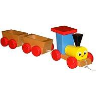 Tahací vlak s vagónky
