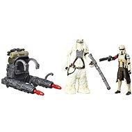 "Star Wars 3.75"" Figurka 2 pack – Scarif Stormtrooper a Squad Leader"
