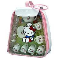 Hello Kitty - čajová sada v igelitovém batůžku