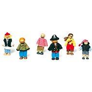 Panenky do domečku - Postavičky piráti
