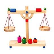 Dřevěné potraviny - Páková váha