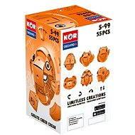 Geomag - Kor 55 dílků oranžová
