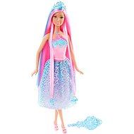 Mattel Barbie - Dlouhovláska s růžovými vlasy