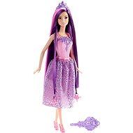 Mattel Barbie - Dlouhovláska s fialovými vlasy