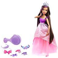 Mattel Barbie - Vysoká princezna s tmavými dlouhými vlasy