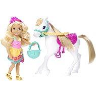 Mattel Barbie - Chelsea a poník