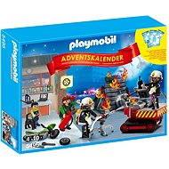 """Playmobil 5495 Adventní kalendář """"Zásah hasičů"""" s překvapením"""