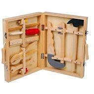 Dřevěný kufřík s nářadím - Maik