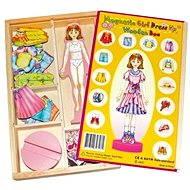Převlékací magnetická panenka - Magda