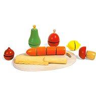 Dřevěné potraviny - Krájená zelenina