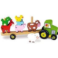 Traktor se zvířátky - Nasazování