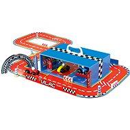 Zábavná hračka Vilac - Závodní dráha s auty v kufříku