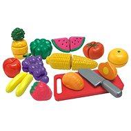 Ovoce a zelenina krájená v krabičce