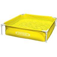 Intex Dětský žlutý bazén s rámem
