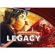 Pandemic Legacy - Rok 1 (Červená krabice)
