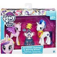 My Little Pony Set 2 poníků s doplňky Princess Candance and Shining Armor