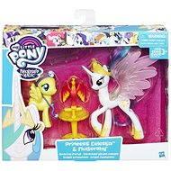 My Little Pony Set 2 poníků s doplňky Princess Celestia and Fluttershy
