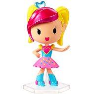 Mattel Barbie Ve světě her červeno-žlutá figurka