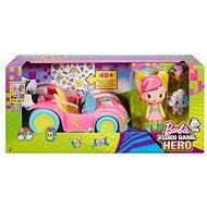 Mattel Barbie Ve světě her Set s autem