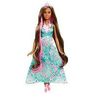 Mattel Barbie v zelených šatech s květinamy