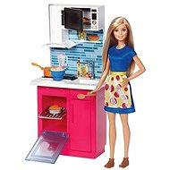 Barbie panenka v kuchyni