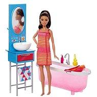 Barbie panenka v koupelně