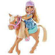 Mattel Barbie Chelsea a Poník