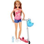 Mattel Barbie Stacie a skútr