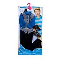 Mattel Barbie Kenův obleček – modro-hnědý
