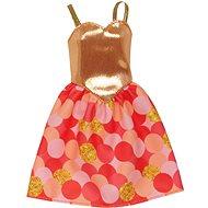 Mattel Barbie šaty – zlaté