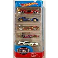 Hot Wheels Angličáky 5 ks - Super Ultimate Garage