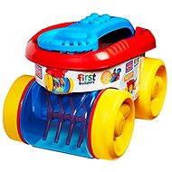 Mega Bloks Zábavný sběrač kostek – červeno-modrý