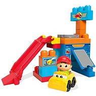 Mega Bloks Herní Set Pojď si hrát – Spinning Garage