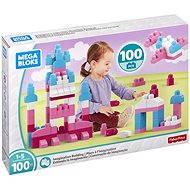 Mega Bloks Růžové stavění s fantazií (100)
