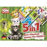 Talking Tom a přátelé - 5v1: Nejlepší klasické hry pro děti